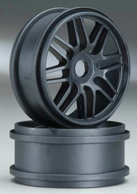 Thunder Tiger 1/8 Multi-Spoke Wheel Black EB-4 PD1981-B