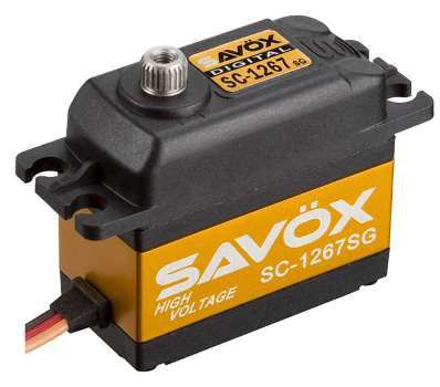 Сервомеханизм Savox SC-1267SG HV Digital 11-20 кг/см - 92.8 руб.