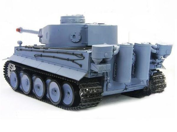 Радиоуправляемый танк Heng Long German Tiger I 1:16 с пневмопушкой и и/к боем