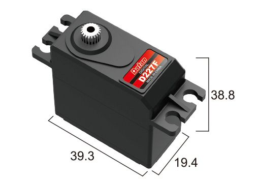 Сервомеханизм BATAN D227F MG Digital Servo - 31.78 руб.