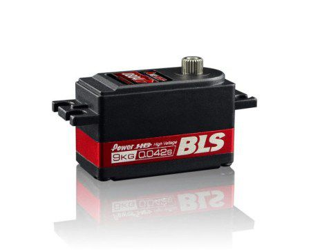Сервомеханизм Power HD BLS-0804HV 7.6-9 кг/см